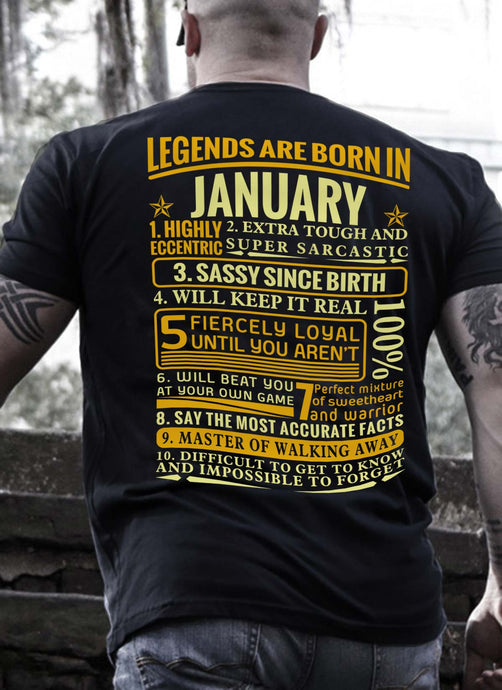 New Edition **Legends Are Born In January** Shirts & Hoodies