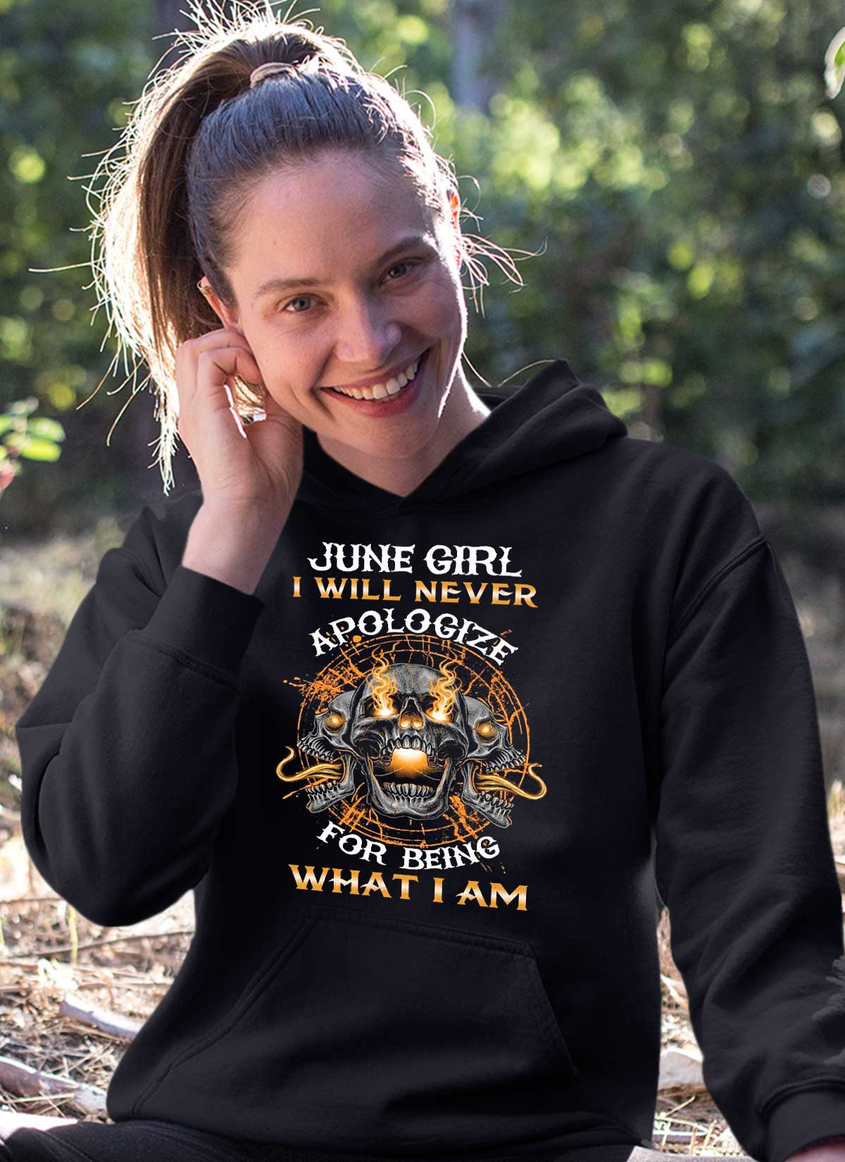 New Edition**June Girl Will Never Apologize** Shirts & Hoodies