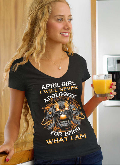 New Edition**April Girl Will Never Apologize** Shirts & Hoodies
