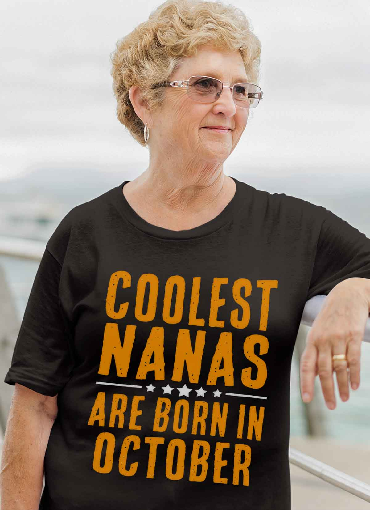 Limited Edition **Coolest Nana Born In October** Shirts & Hoodie