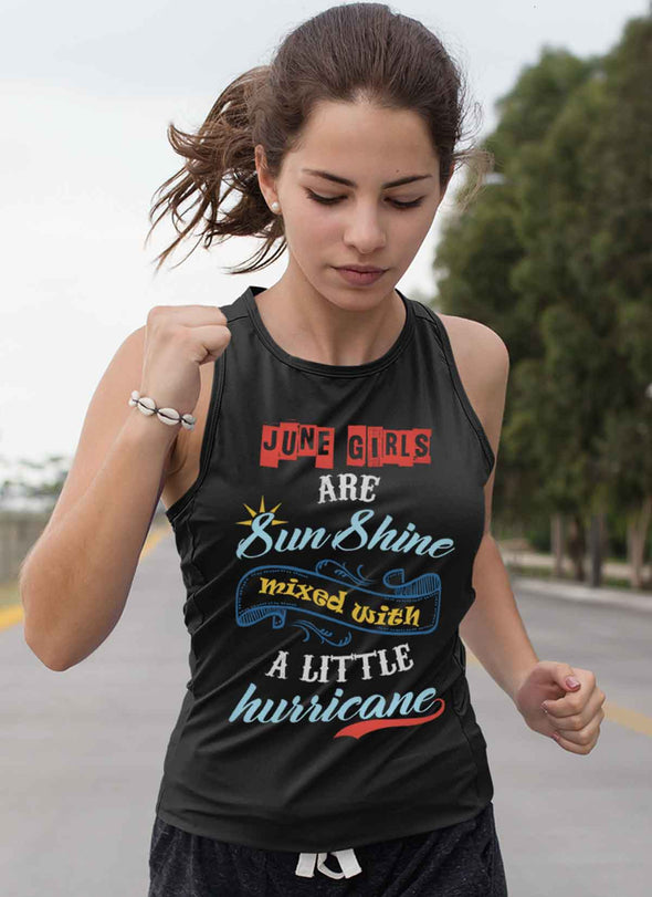 Limited Edition  **June Born Girls Are Sunshine** Shirts & Hoodies