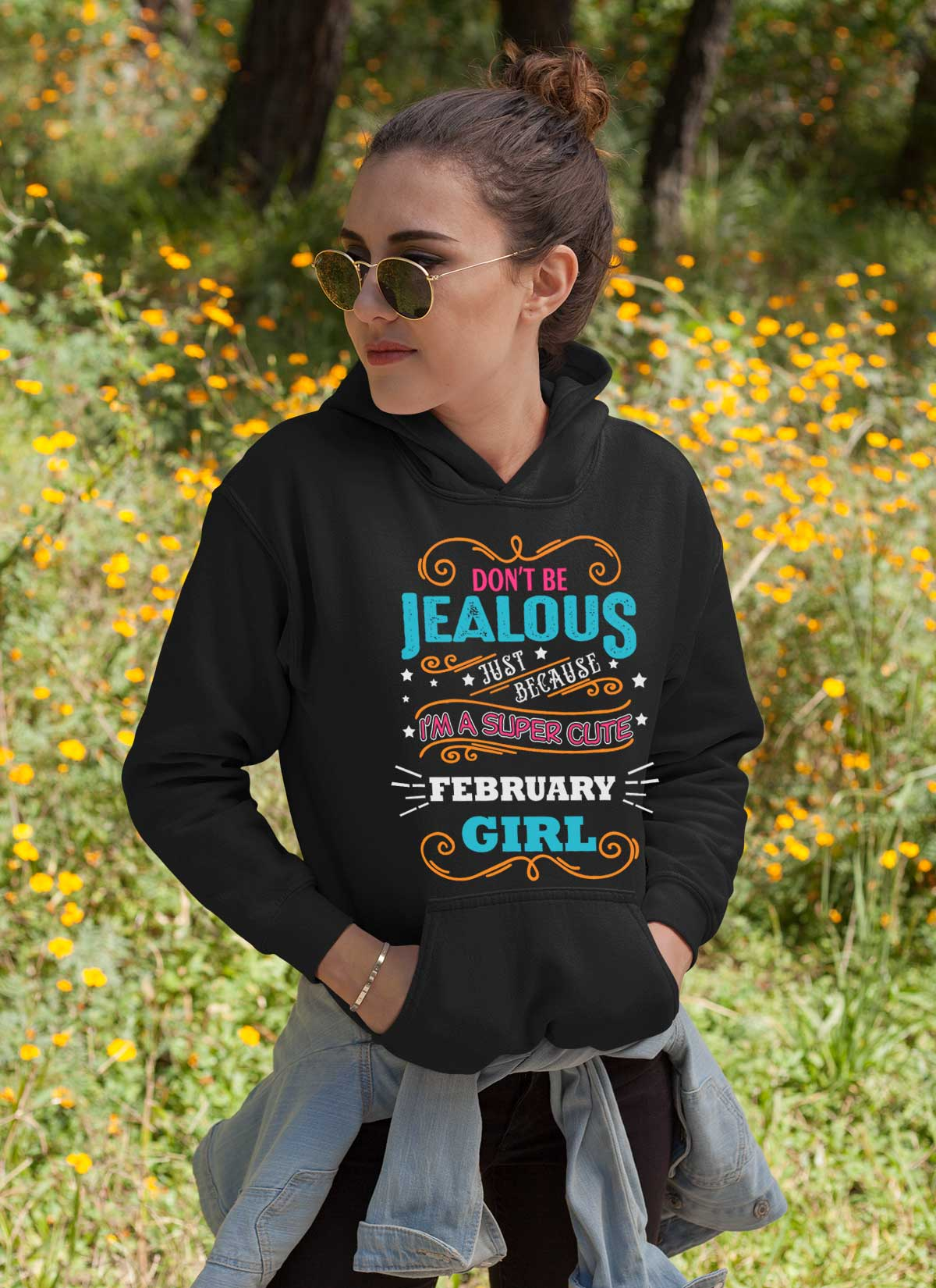 New Edition ** Super Cute February Girl** Shirts & Hoodies