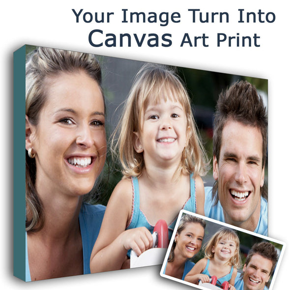 Custom Photo Canvas - A Perfect Holiday Gift