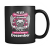 December Women Who Loves Pug Mug