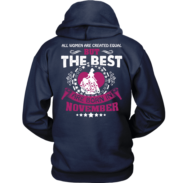 Limited Edition ***Best Are Born In November Back Print*** Shirts & Hoodie