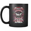 Veteran Born In April Mug