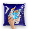 Room Decor Custom Name Personalized Mermaid Pillow