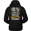 Limited Edition ***Love All Trust Few December Back Print*** Shirts & Hoodies