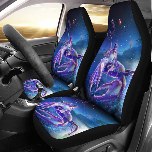 Cancer Print Car Seat Cover