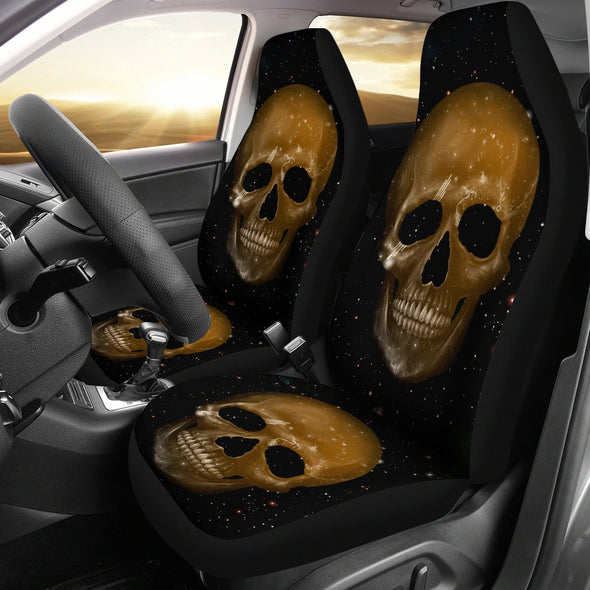 Skull Face Car Seat Cover
