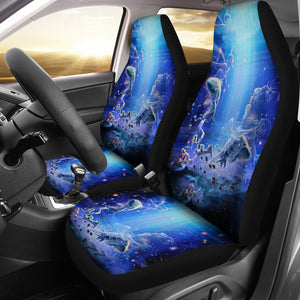 Pisces Print Car Seat Cover