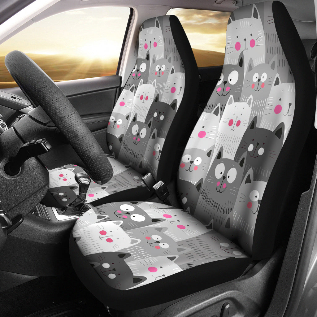 Funny Cats Car Seat Cover