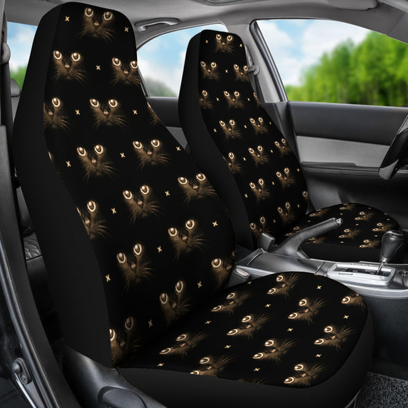 Cute Cat Eye Car Seat Cover