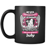 July Women Who Loves Pitbull Mug
