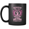 February Born Good Heart Nurse Mug