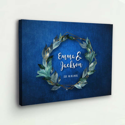Made For Each Other Personalized Canvas
