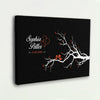 Love Birds Custom Canvas