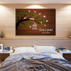 Personalized Love Tree Canvas Wall Art - Exclusively Made