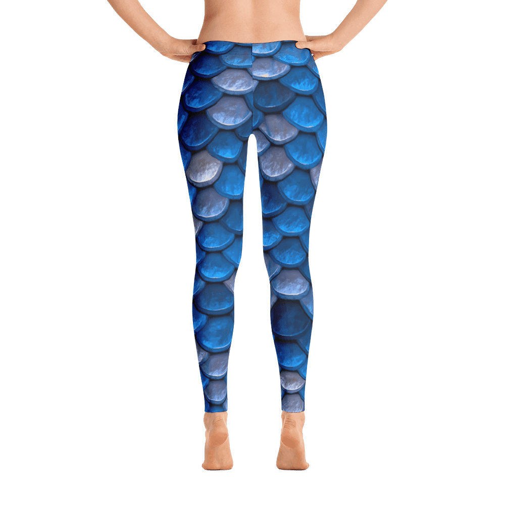 Limited Edition Fish Scale Printed Leggings