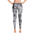 Limited Edition Grey Camouflage Printed Leggings