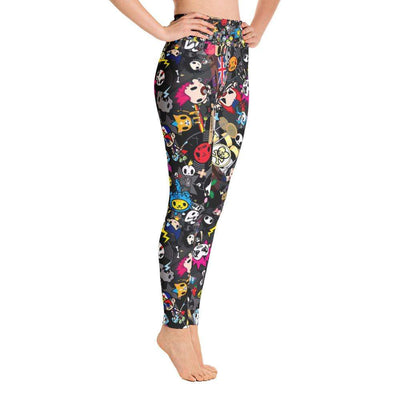 Amazing Cartoon Print Yoga Leggings