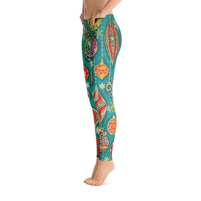 Colorful Print All Over Leggings