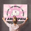 I Am Confident Girl Custom Wall Art