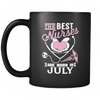 Best Nurses Are Born In July Mug