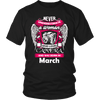 March Women Who Loves Camera Shirts, Hoodie & Tank