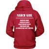 Limited Edition ***March Girl*** Shirts & Hoodies