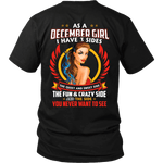 Limited Edition ***December Girl 3 - Sided*** Shirts & Hoodies