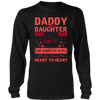 Daddy Daughter - Heart To Heart Shirt, Hoodie & Tank
