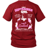 Limited Edition ** September Born Girl ** Shirts & Hoodies