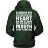 Limited Edition ***December Guy - Can't Control Mouth Back Print*** Shirts & Hoodies