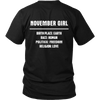 Limited Edition **November Girl Birth Place** Shirts & Hoodies