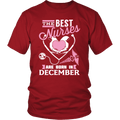 Best Nurses Are Born In December Women Shirts, Hoodie & Tank