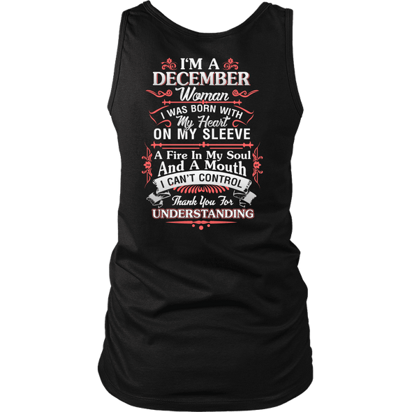 Limited Edition ***December Women Heart On Sleeve*** Shirts & Hoodies