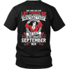 Limited Edition **God Created September Men** Shirts & Hoodies
