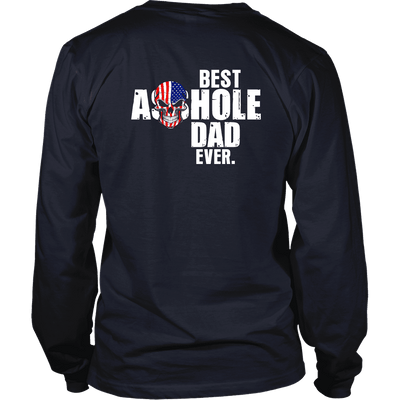 Limited Edition **Best Dad Ever Back Print** Shirts & Hoodies