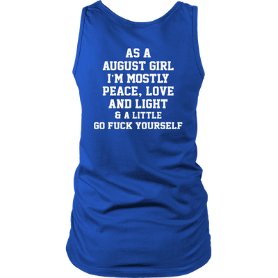 Limited Edition ***August Girl Peace Love*** Shirts & Hoodies