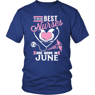 Best Nurses Are Born In June Women Shirts, Hoodie & Tank