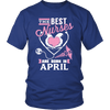 Best Nurses Are Born In April Women Shirts, Hoodie & Tank