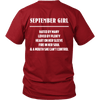 Limited Edition ***September Girl*** Shirts & Hoodies