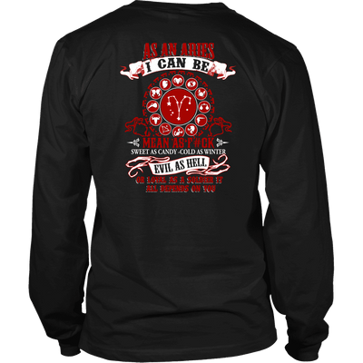 Limited Edition **Aries -  I Can Be Mean** Shirts & Hoodies