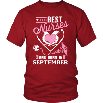Best Nurses Are Born In September Women Shirt, Hoodie & Tank