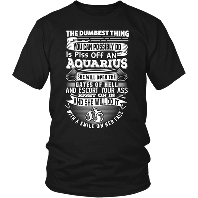 The Dumbest Thing Aquarius  Women Shirt, Hoodie & Tank