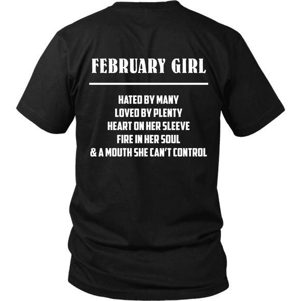 Limited Edition ***February Girl*** Shirts & Hoodies
