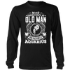Old Man Aquarius Shirt, Hoodie & Tank