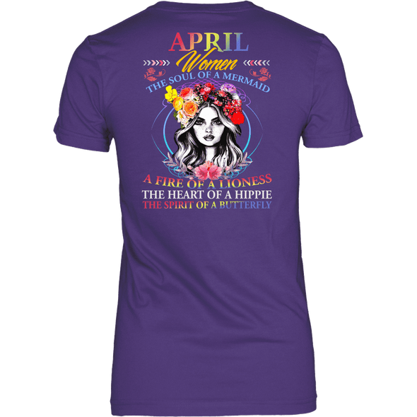 Limited Edition ***April Women Fire Of Lioness*** Shirts & Hoodies