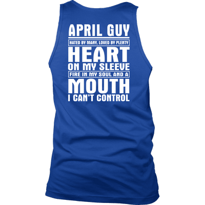 Limited Edition ***April Guy - Can't Control Mouth Back Print*** Shirts & Hoodies